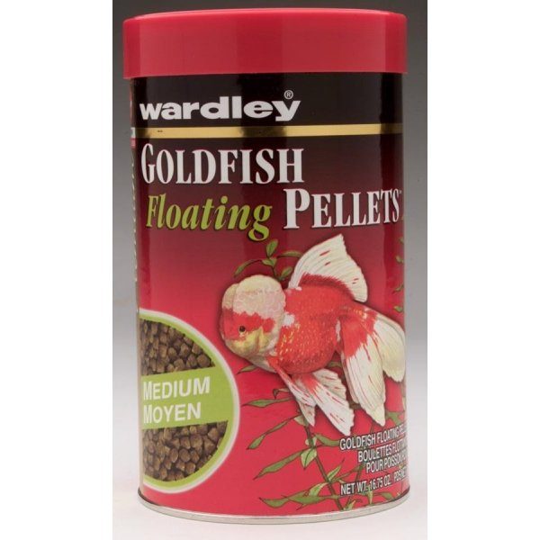 Goldfish Floating Pellets / Size 16.75 Oz