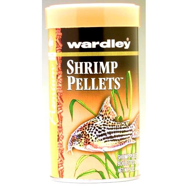 Wardley Shrimp Pellets / Size 9 Oz.