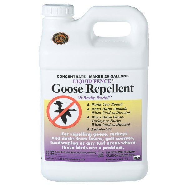 Liquid Fence Goose Repellent Concentrate / Size (2.5 gallon) Best Price
