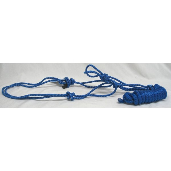 Lariat Rope Halter for Horses / Color (Blue) Best Price