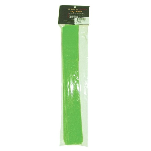Quick-on Livestock ID Leg Band 10 pk. / Color (Neon Green) Best Price
