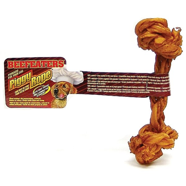 Beefeaters Dog Piggy Rope Bone / Size (5 in. Light) Best Price