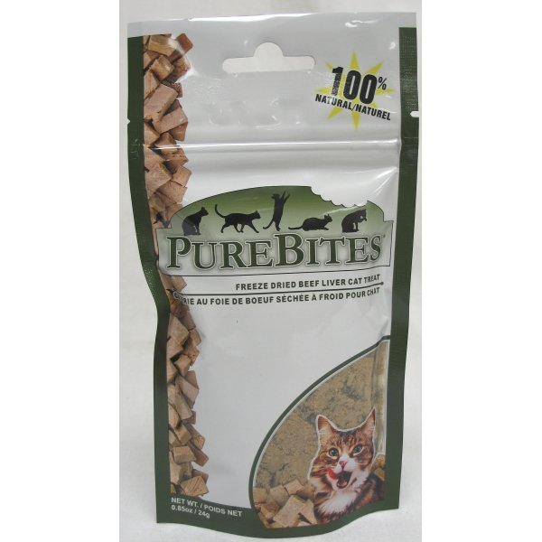 Cat Purebites 0.6 oz. / Flavor (Beef Liver) Best Price