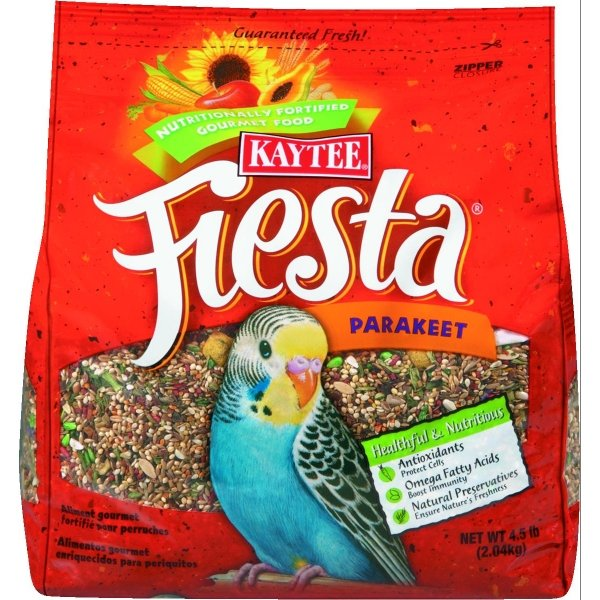 Fiesta Food Parakeet / Size (4.5 lbs) Best Price