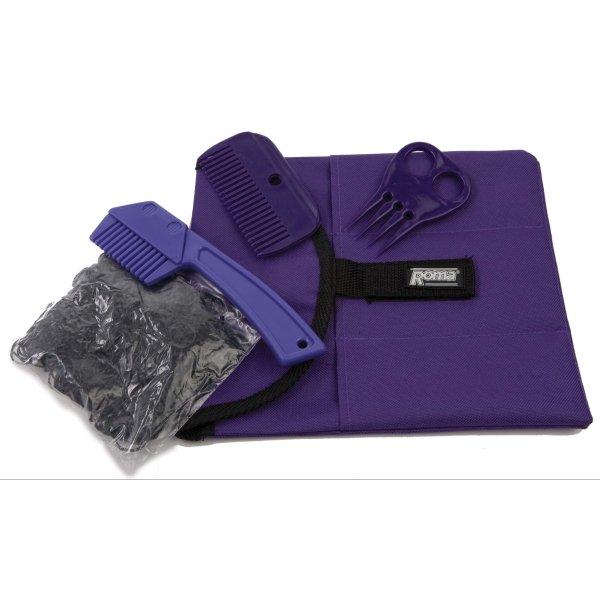 5 Piece Roma Braiding Kit / Color (Black) Best Price