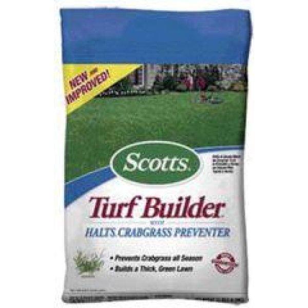 Scotts Turf Builder w/Halts Crabgrass Preventer / Size (5 000 s ft) Best Price