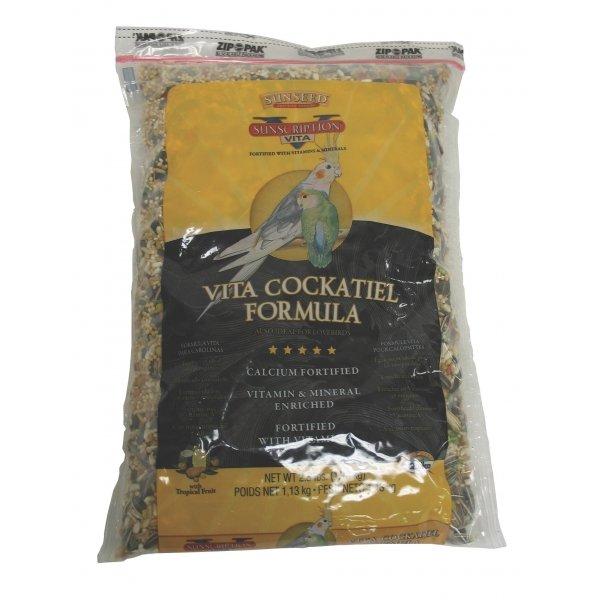 Vita Cockatiel Food / Size 2.5 Lbs.
