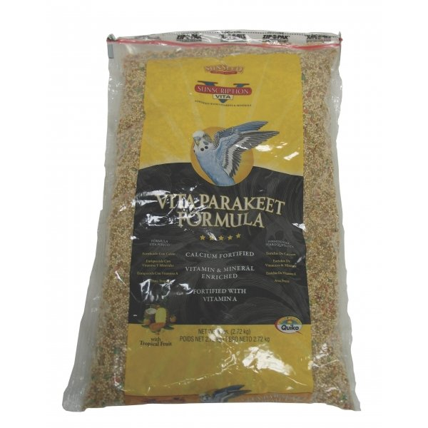 Vita Parakeet Food / Size (6 lbs.) Best Price
