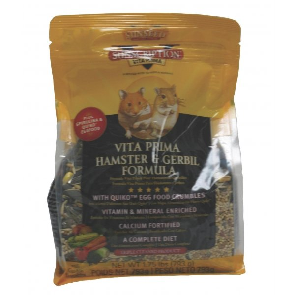 Vita Prima Hamster and Gerbil Food / Size (1.75 lbs.) Best Price