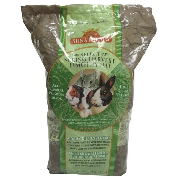 Sun Seed Spring Harvest Timothy Hay For Small Pets / Size 28 Oz.