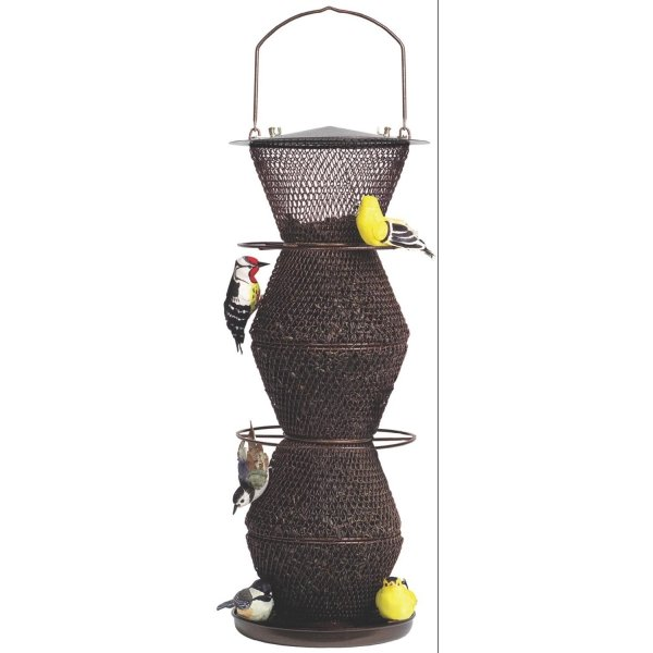 Sweet Corn Five Tier No/no Bird Feeder / Color Bronze