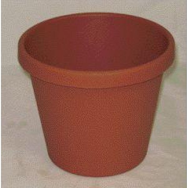 Classic Flower Pot / Size (8 in. / Clay) Best Price