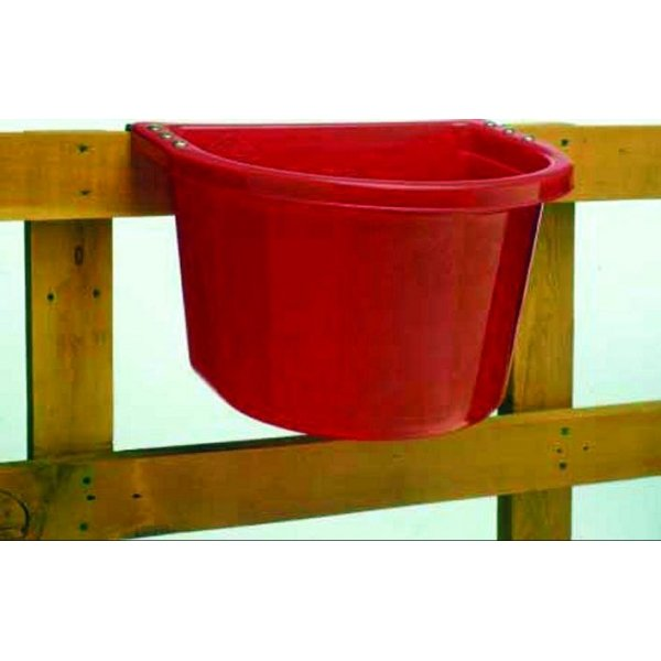 Over the Fence Livestock Feeder 20 qt. / Color (Red) Best Price