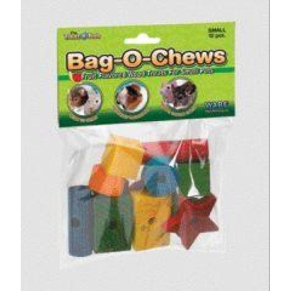 Bag-O-Chews Wood Chew Toys for Small Animals / Size (Small/12 pc) Best Price