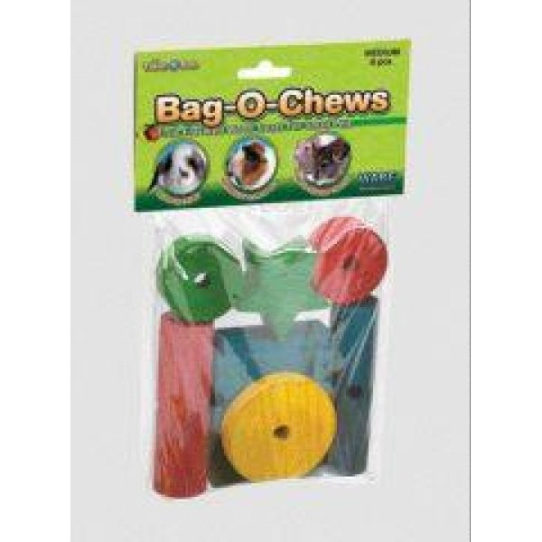 Bag-O-Chews Wood Chew Toys for Small Animals / Size (Medium/8 pc) Best Price