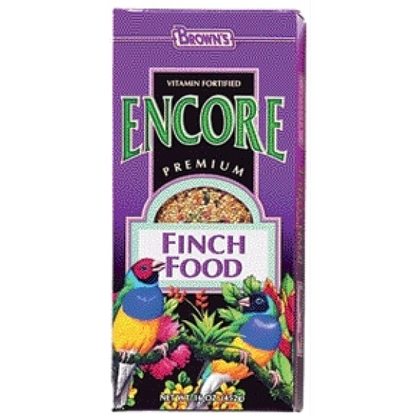 Encore Bird Food / Type Fin. / 16 Oz.