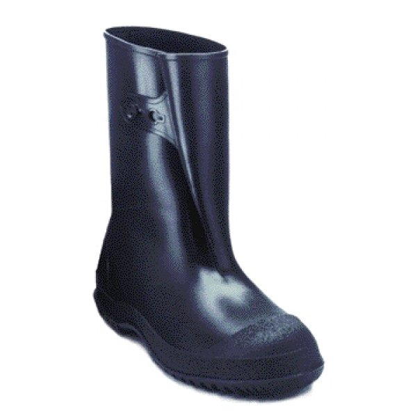 Mens Workbrutes PVC Overshoes - 10 in. boot / Size (Large) Best Price