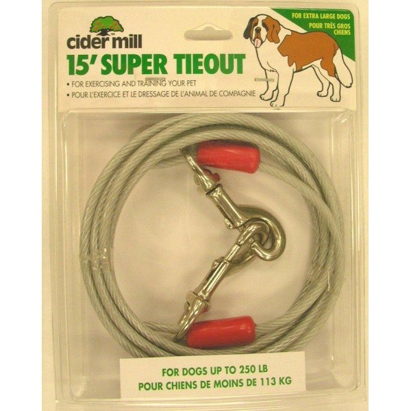 Super Dog Tieout / Length 15 Ft.