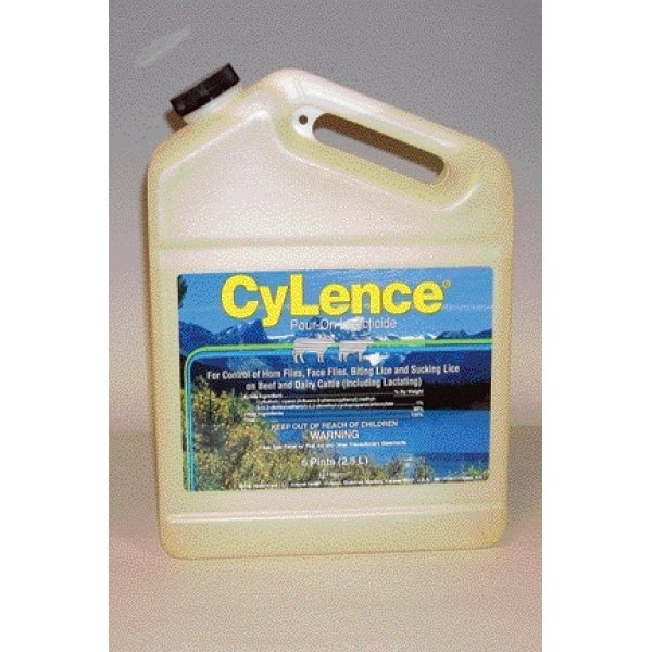 CyLence Pour-On Cattle Insecticide / Size (6 pt.) Best Price