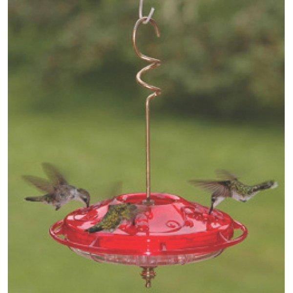 Hummzinger Fancy Hummingbird Feeder / Color Red