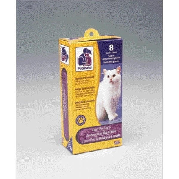 Petmate Cat Pan Liners / Size (Jumbo) Best Price
