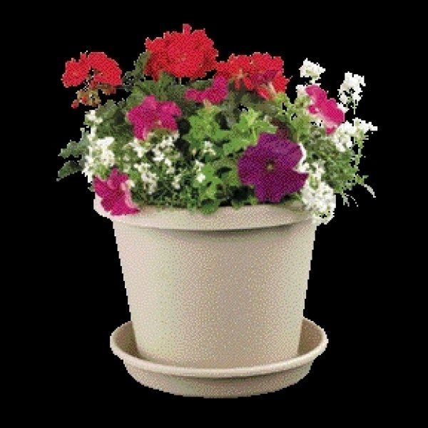 Classic Flower Pot / Size (6 in. / Sand) Best Price