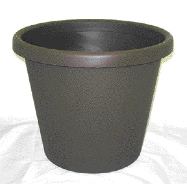 Chocolate Brown Flower Planter / Size (14 in) Best Price