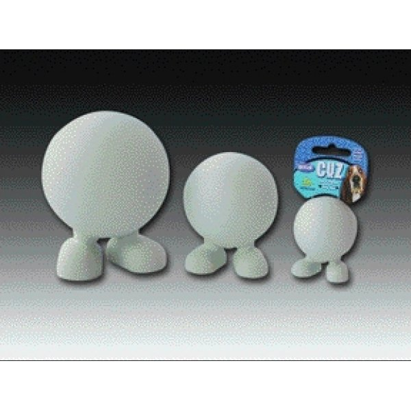 Cuz Hard Rubber Squeaky Dog Toys / Size Medium Good Cuz