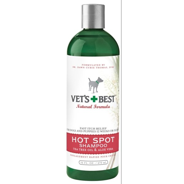 Vets Best Dog Hot Spot Shampoo / Size 16 Oz.