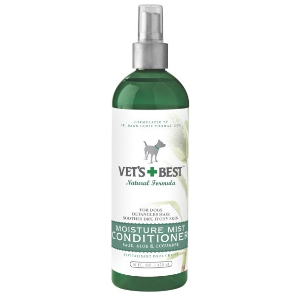 Vets Best Dog Mist Conditioner / Size 16 Oz.