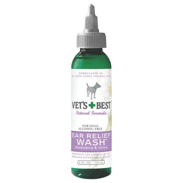 Vets Best Ear Relief Wash / Size 4 Oz.