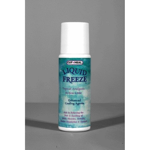 Cut-Heal Liquid Freeze Analgesic for Horses / Size (4 oz. roll on) Best Price