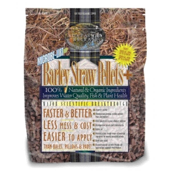 Microbe Lift Barley Straw Plus Pellets / Size 4.4 Lbs.