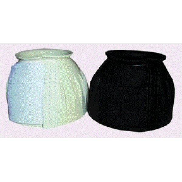 Bell Boot for Horses with Velcro / Size (Large Black) Best Price