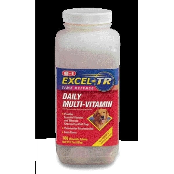 Excel Adult Dog Multi Vitamin / Size 180 Ct