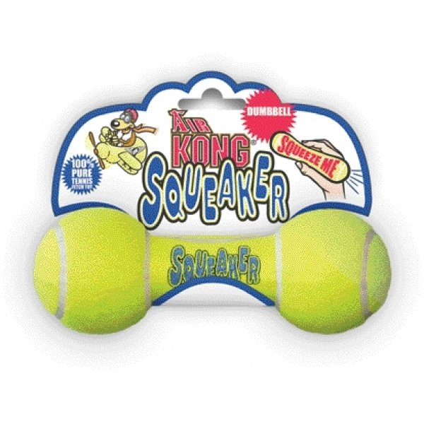 Air Kong Squeaker Dumbbell Doy Toy / Size (Small) Best Price