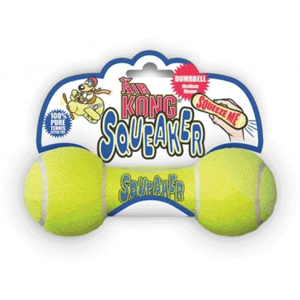 Air Kong Squeaker Dumbbell Doy Toy / Size (Medium) Best Price