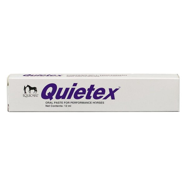 Quietex for Calming Horses / Type (12 ml Syringe) Best Price