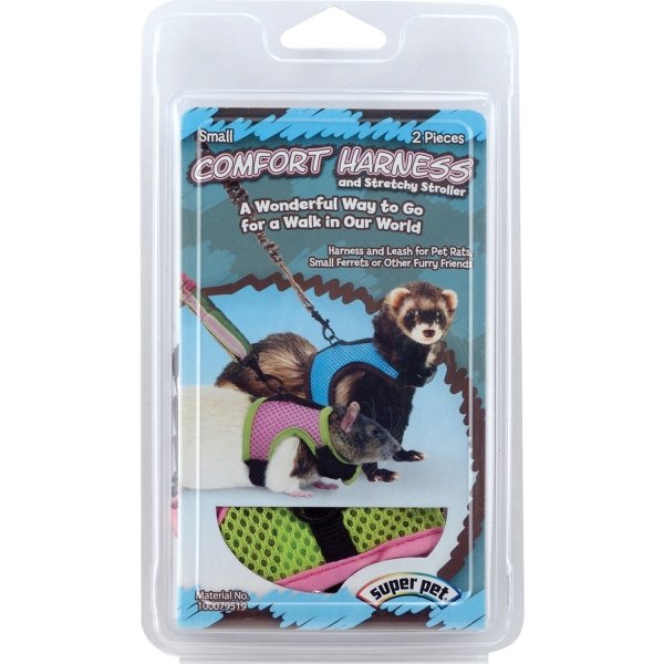 Harness with Stretchy Stroller for Small Animals / Size (Small) Best Price