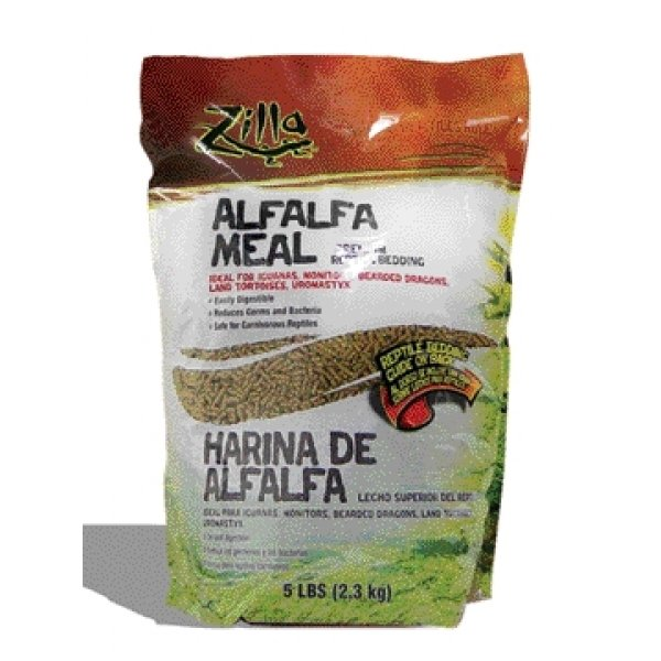 Alfalfa Meal Litter For Reptiles / Size 5 Lbs