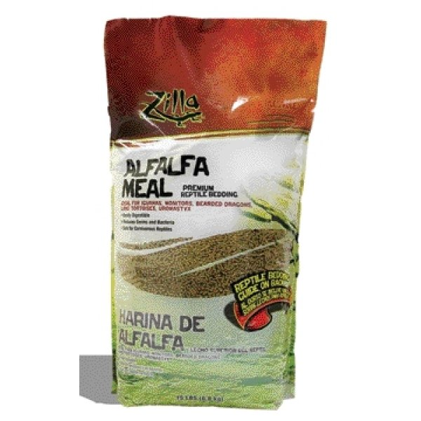 Alfalfa Meal Litter for Reptiles / Size (15 lbs)
