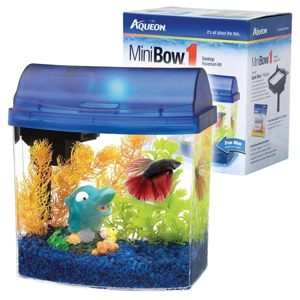 Mini Bow Desktop Kit Gallon / Color Blue