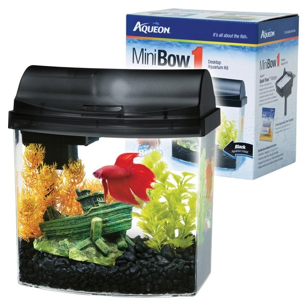 Mini Bow Desktop Kit Gallon / Color Black