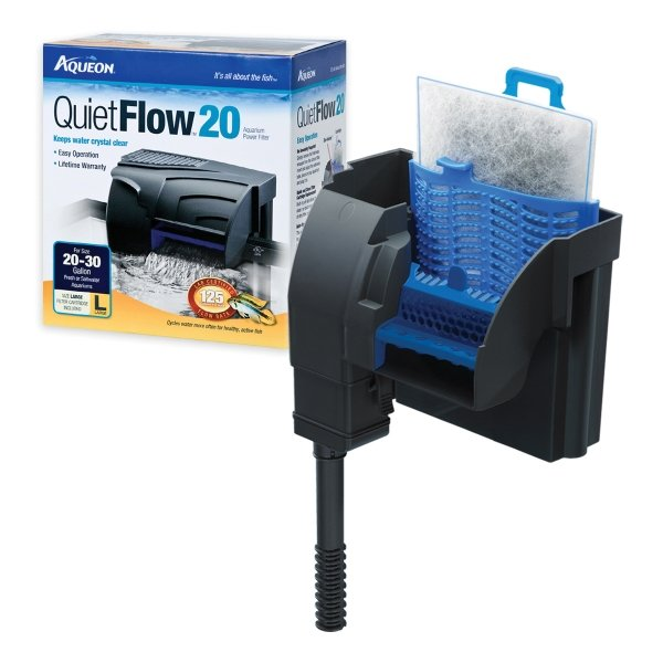 Aqueon Power Filter / Size Quietflow 30 200gph