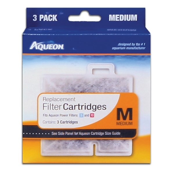 Aqueon Cartridge / Size Med / 3 Pack
