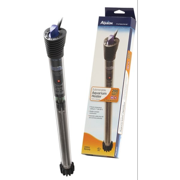 Aqueon Submersible Heater / Size (200 Watt) Best Price