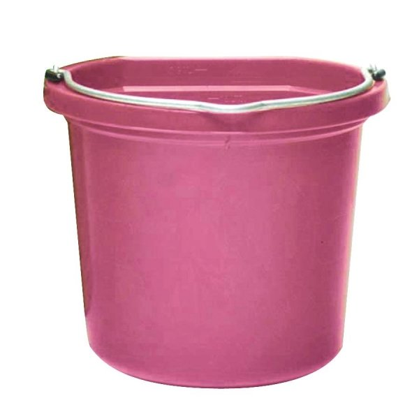 Plastic Utility Pail 8 Qt. / Color Hot Pink