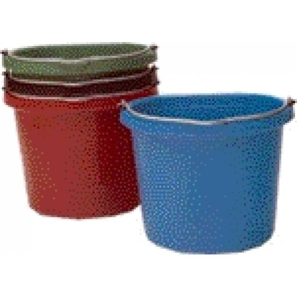 Flat Back 20 quart Bucket / Color (Red) Best Price