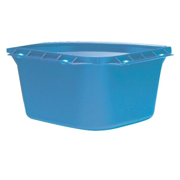 Corner Fence Mount Animal Feeder 24 qt. / Color (Blue) Best Price