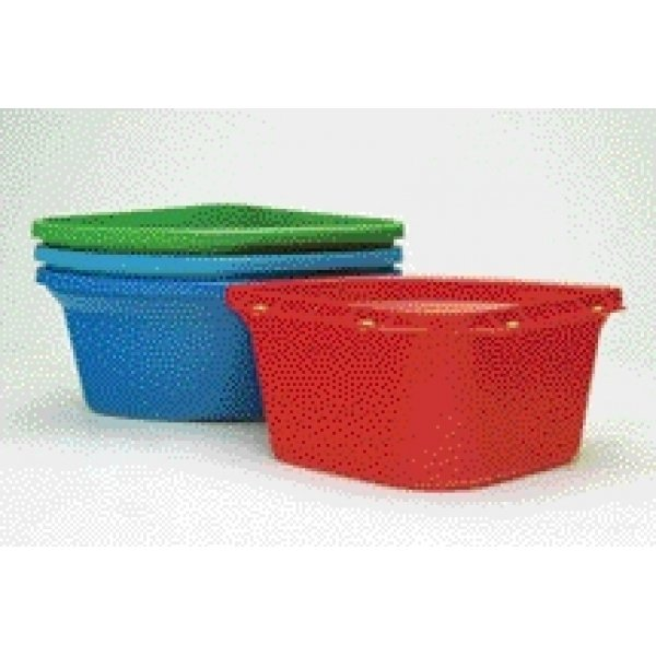 Corner Fence Mount Animal Feeder 24 qt. / Color (Red) Best Price